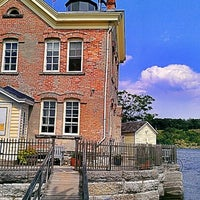 Photo taken at Saugerties Lighthouse by Antonio D. on 7/18/2012