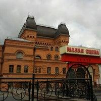 Photo taken at Могилёвский драматический театр by Адам Б. on 7/21/2012