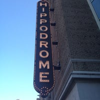 Photo taken at The Hippodrome Theatre at the France-Merrick Performing Arts Center by Scott S. on 4/6/2012