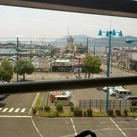Photo taken at Tokuyama Station by Ikeda R. on 5/28/2012