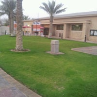 Photo taken at Dhahran Recreation Library by Hussain A. on 5/13/2012