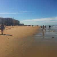 Photo taken at La Victoria Beach by Alfonso S. on 7/1/2012