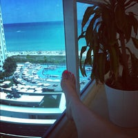 Photo taken at The Perry South Beach Hotel by SKW on 4/6/2012