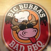 Photo taken at Big Bubba's Bad BBQ by Benjamin B. on 8/9/2012