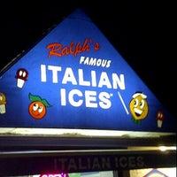Photo taken at Ralph's Famous Italian Ices by jedaiah P. on 3/29/2012