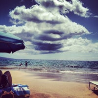 Photo taken at Wailea Beach by Stacy P. on 5/5/2012
