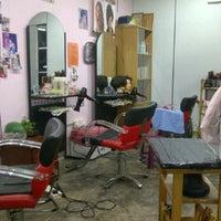 Photo taken at Winnie Hair Saloon by WeR on 4/9/2012