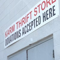 Photo taken at KARM Thrift Store by Spiffy H. on 6/20/2012