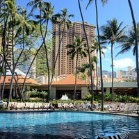 Photo taken at Hilton Hawaiian Village Waikiki Beach Resort by Kazu S. on 5/15/2012
