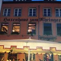 Das Foto wurde bei Haxenhaus von Max G. am 8/17/2012 aufgenommen