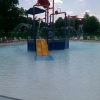 Photo taken at Tuhey Pool by Kacey C. on 8/16/2012