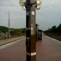 Photo taken at Fort Totten Metro Station by Carlos G. on 5/27/2012