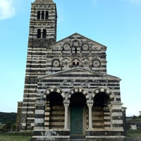 Photo taken at Santissima Trinita di Saccargia by Kitti V. on 6/9/2012