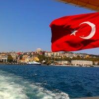 Photo taken at Besiktas - Uskudar Boat by Ermis O. on 8/24/2012