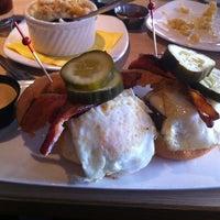 Photo taken at Stax Burger Bistro by Adi P. on 4/15/2012
