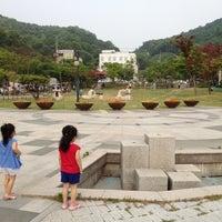 Photo taken at 갈미한글공원 by KJ🎗 on 6/6/2012