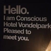 Foto diambil di Conscious Hotel oleh Polle d. pada 9/2/2012