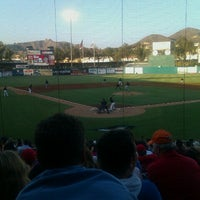 Photo taken at Lake Elsinore Diamond by Austen B. on 7/4/2012