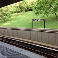 Photo taken at Fort Totten Metro Station by David M. on 5/15/2012