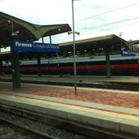 Photo taken at Firenze Campo di Marte Railway Station (FIR) by 🌟Enrico C. on 5/1/2012