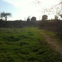 Photo taken at Alston Dog Park by Jessica W. on 3/24/2012