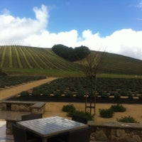 Photo taken at Niner Wine Estates by Antonio P. on 4/11/2012