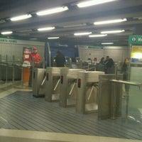 Photo taken at Metro Santa Isabel by Guillermo B. on 6/28/2012
