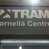 Photo taken at Tram T1/T2 Cornellà Centre by Toni d. on 2/29/2012