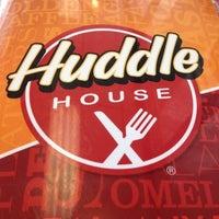 Photo taken at Huddle House by Jason on 9/1/2012