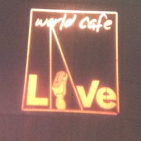 Foto tirada no(a) World Cafe Live por Christina R. em 8/30/2012