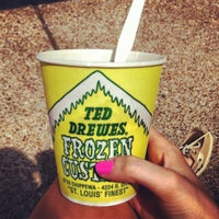 Photo taken at Ted Drewes Frozen Custard by Chelsea W. on 5/3/2012