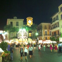 Photo taken at Piazza Tasso by Vladimir L. on 7/16/2012