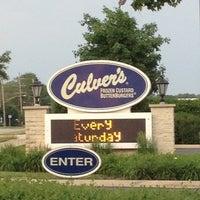 Photo taken at Culver's by Matthew V. on 5/27/2012
