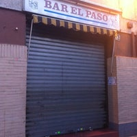 Photo taken at Bar El Paso by Sergio R. on 3/31/2012