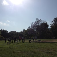 Photo taken at Balboa Park Dog Park by Areum O. on 5/6/2012