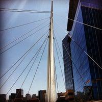 5/31/2012 tarihinde Cooper S.ziyaretçi tarafından Millenium Bridge'de çekilen fotoğraf