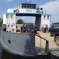 Photo taken at Причал «Конаково» by Oleg K. on 7/28/2012