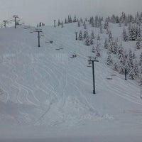 Photo taken at Hoodoo Ski Area by Jacy on 3/16/2012