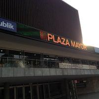Photo taken at Plaza Mayor - Convenciones y Exposiciones by Luis S. on 7/23/2012