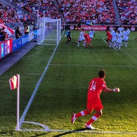 Photo taken at BMO Field by Kennaway M. on 6/13/2012