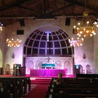 Photo taken at Coral Gables Congregational Church by James T. on 8/7/2012