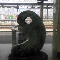Photo taken at Itoigawa Station by moni9999 on 3/23/2012