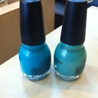Photo taken at Green Nails by Laura S. on 7/14/2012