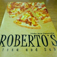 Photo taken at Roberto's Pizza by D'Angelo M. on 8/12/2012