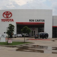 Photo taken at Ron Carter Toyota by Renee C. on 4/4/2012