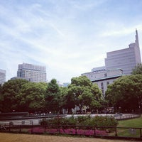Photo taken at Hibiya Park by Poisonotter N. on 6/27/2012