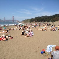 Photo taken at Baker Beach by Richard H. on 5/6/2012