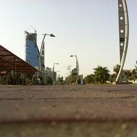 Photo taken at Al Corniche Walk by Ahmed A. on 8/7/2012