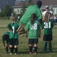 Photo taken at Kennedy Soccer Fields by Chrisna T. on 8/25/2012