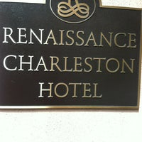Photo taken at Renaissance Charleston Historic District Hotel by Andrew W. on 5/28/2012